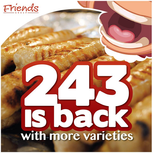 Friends Gourmet 2 For 3 243 Promotion Friends Gourmet 2 For $3 (243) Promotion