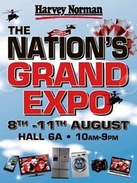 Harvey Norman The Nations Grand Expo (Till 11 Aug 2013)