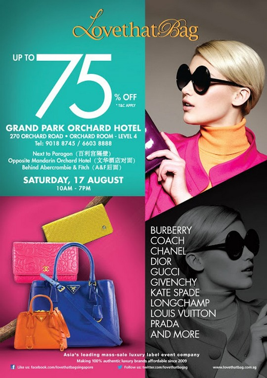 LovethatBag Designer Bags Sale (17 Aug 2013)