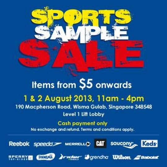 Royal Sporting House Sports Sample Sale (1 - 2 Aug 2013)