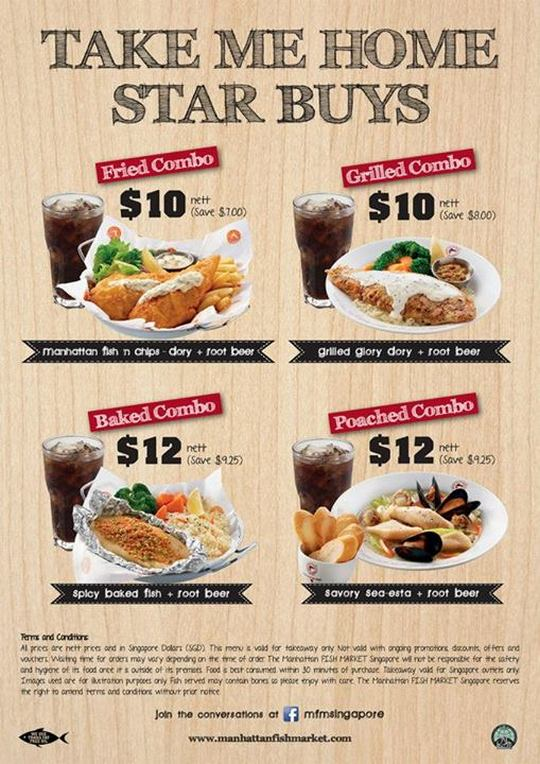 The Manhattan Fish Market Takeaway Specials